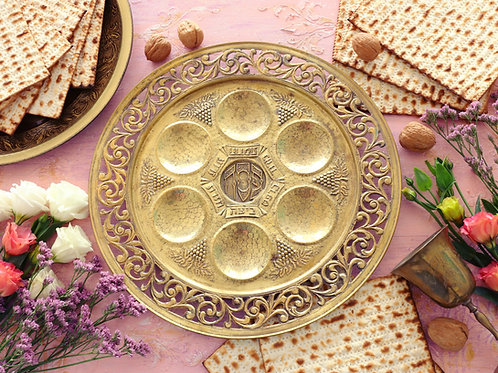 Seder Plate Essentials - Family Size