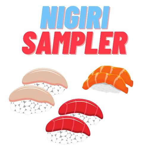 Nigiri Sampler (6pc)
