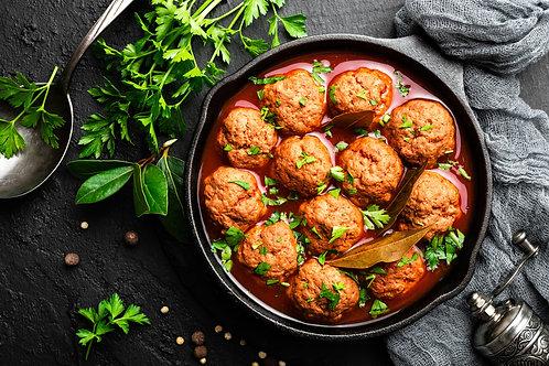 Braised Meatballs