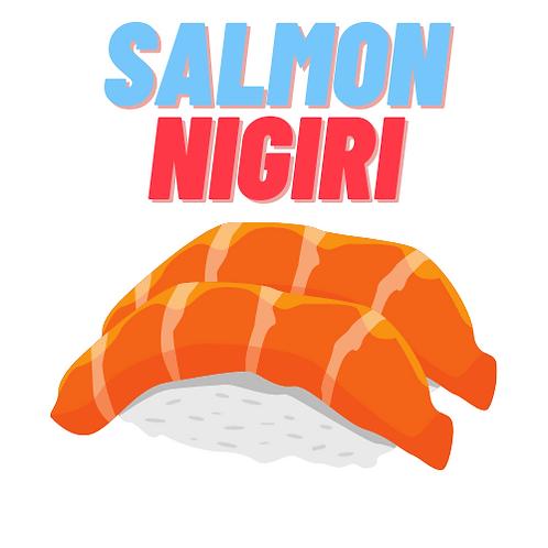 Salmon Nigiri (5pc)