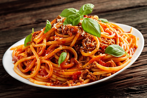 Beef Bolognese with Linguini