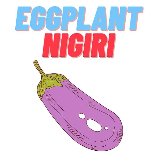 Eggplant Nigiri (5pc)