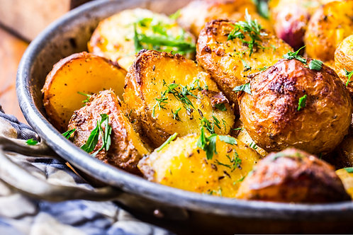 Schmaltz Roasted Potatoes