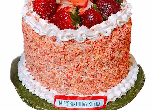 Triple C's Strawberry Crunch Cake