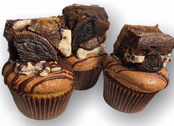 Cankie  Brownie Cupcakes
