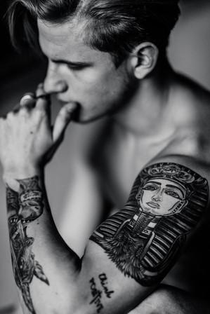 inked, hot men