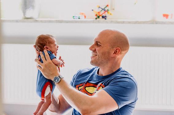 Supermann, Superpapa, Superbaby