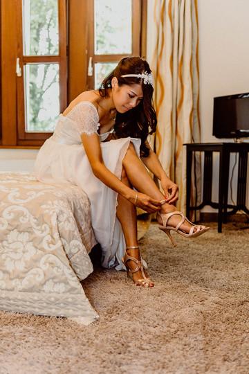 Getting Ready I Braut