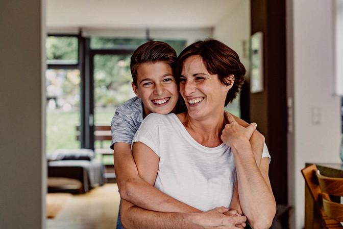 Mama & Sohn