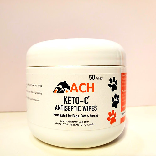 Keto-C™ Antiseptic Wipes (50ct)
