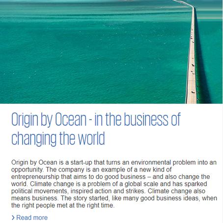 KPMG View article on Origin by Ocean