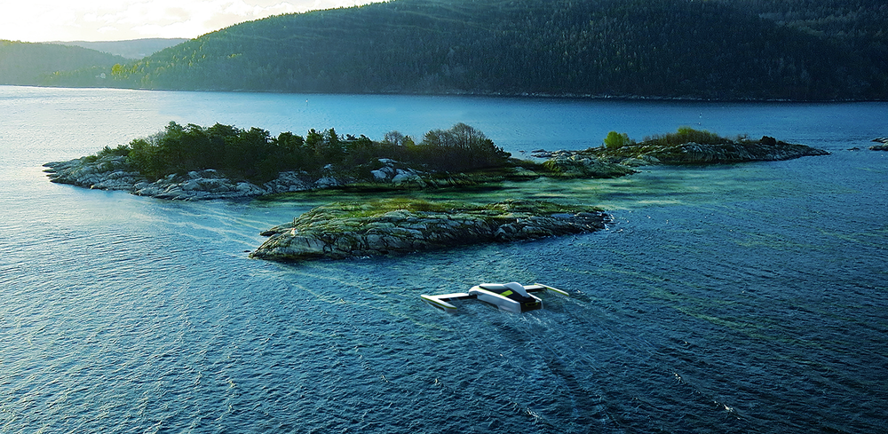 Blue green algae harvesting drone
