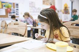 art class at elementary school   art rotations  VAPA school  