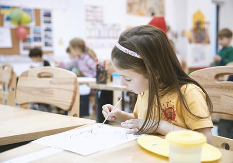 Service civique à l'école élémentaire de Tallende