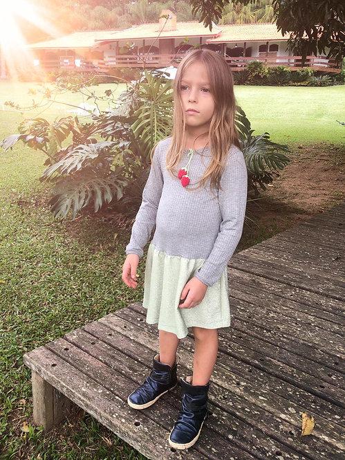 Vestido Bina Croche