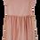 Thumbnail: Vestido Souris rosa bordado