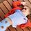 Thumbnail: Legging morango artsy azul