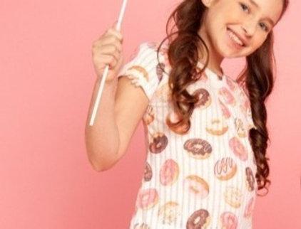 T-shirt Evase Donuts