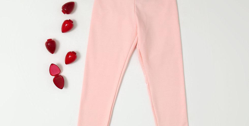 Legging fleece rosa
