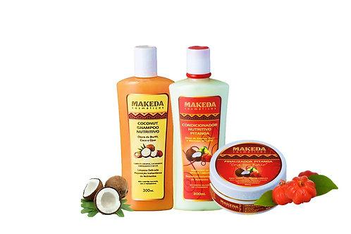 Kit para cabelos Crespos com Alisamento 3ABC e 4ABC