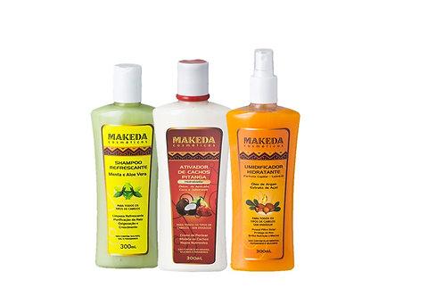 Kit Refrescante  para quem possui raiz oleosa, cabelo tipo 2 ABC- 3 produtos