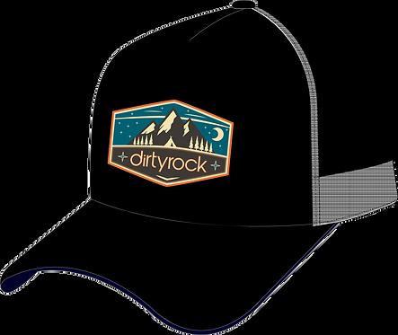 dirtyrock black trucker cap