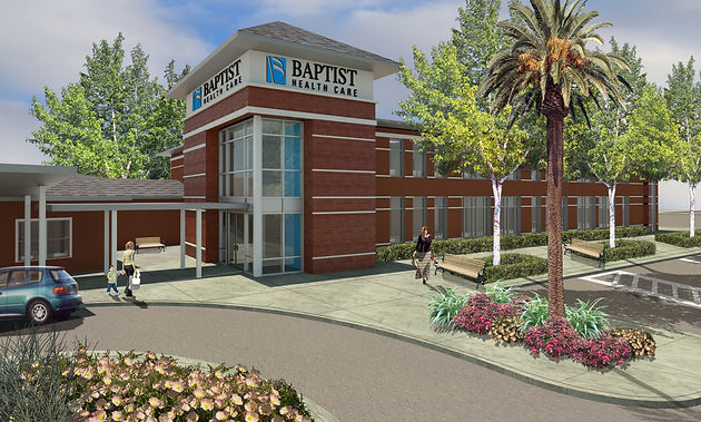 Baptist Medical Park in Pace - designed by STOA Architects