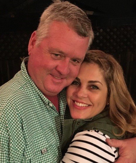 Tina and husband, Chip