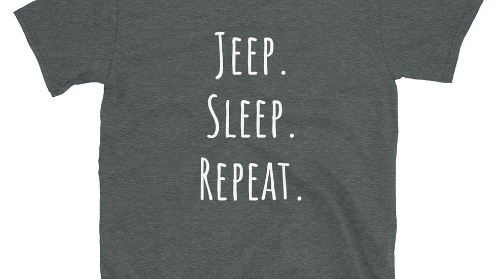 Jeep. Sleep. Repeat. T-Shirt