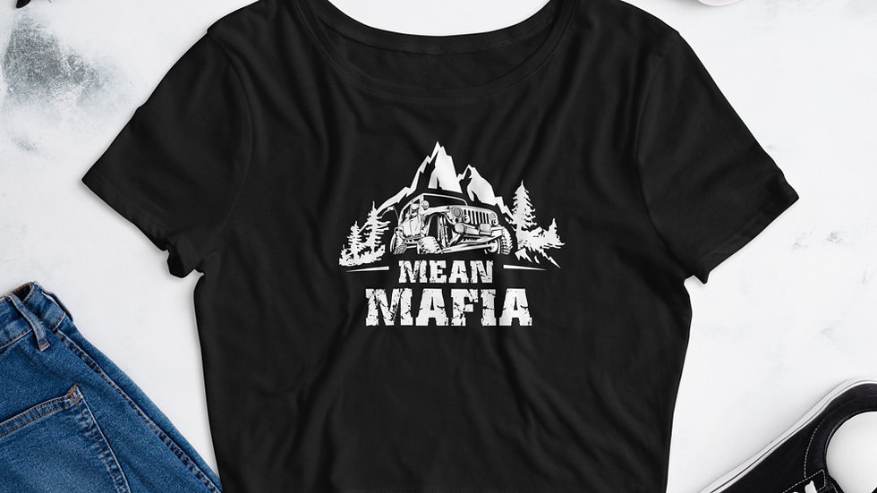 Mean Mafia Jeepher Crop Tee
