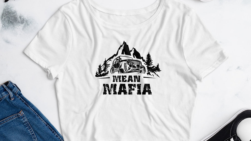 Mean Mafia Jeepher Crop Tee