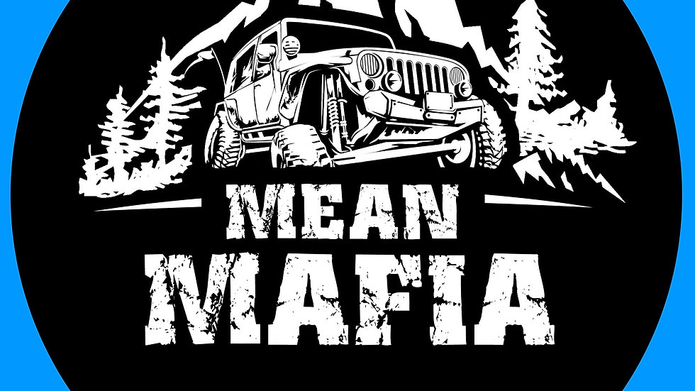Black Mean Mafia Sticker