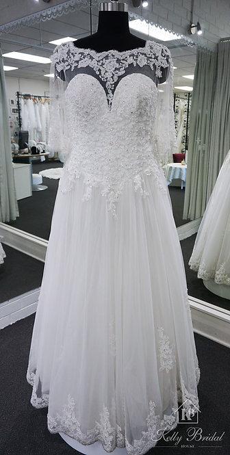 Bonnie Ball Gown Wedding Dress