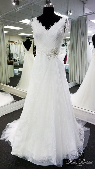 Alexis A-Line Wedding Gown