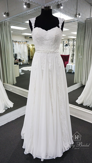 Audrey A-Line Style Wedding Gown