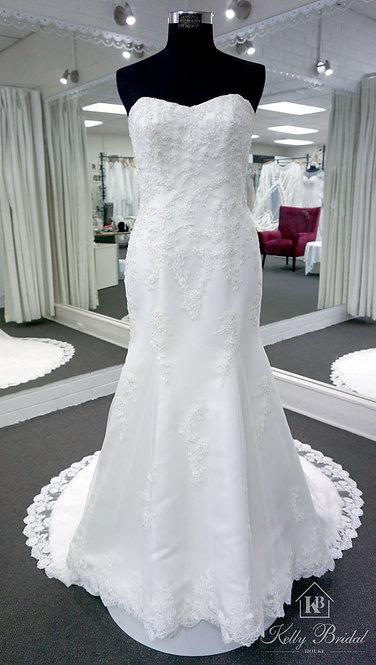 Melinda Mermaid Style Wedding Gown