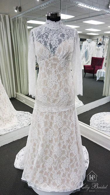 Mandy Mermaid Style Wedding Gown