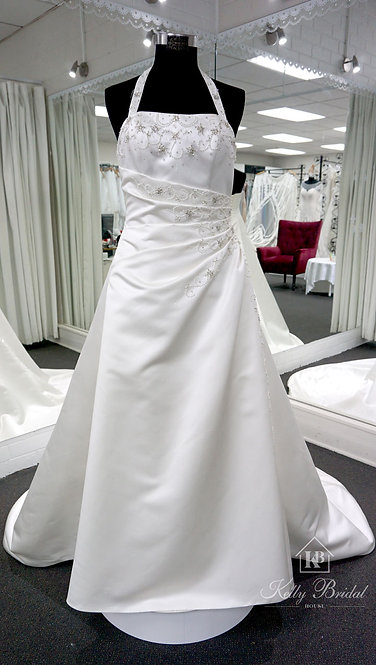 Abby A-Line Style Wedding Gown