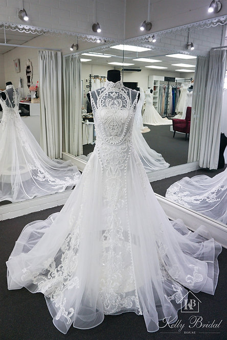 Abigail A-Line Wedding Gown