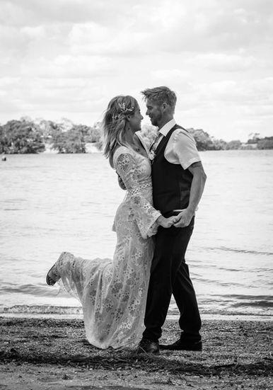 Gita & Johnny Wedding Photo