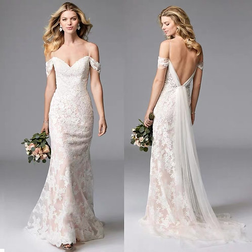 Mary Mermaid Style Wedding Gown