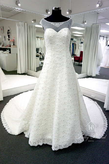 Alice A-Line Style Wedding Gown