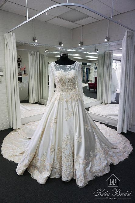 Brianna Ball Gown Wedding Dress