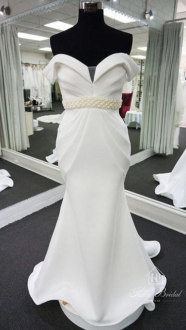 Megan Mermaid Style Wedding Gown