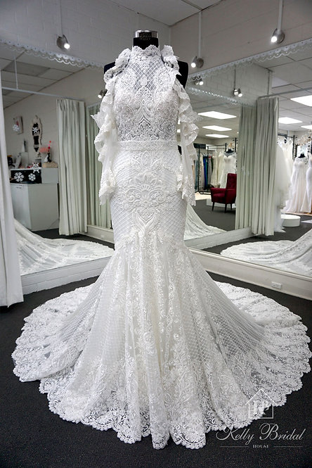 Maxine Mermaid Style Wedding Gown