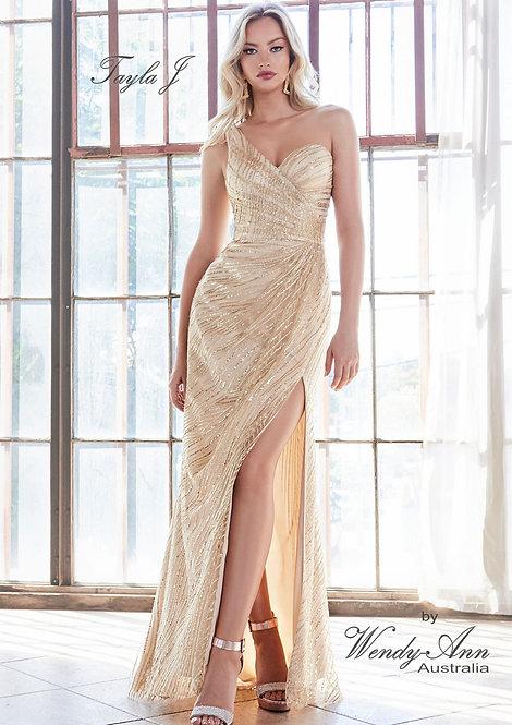 Wendy Ann Stunning One Shoulder Formal Gown