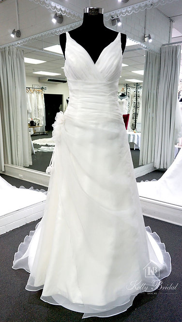 Alisa A-Line Style Wedding Gown
