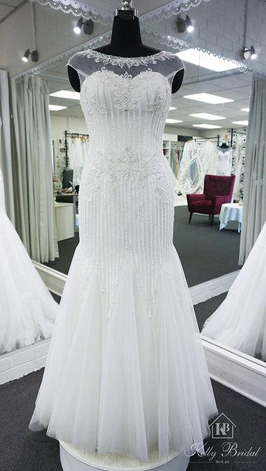 Milla Mermaid Style Wedding Gown