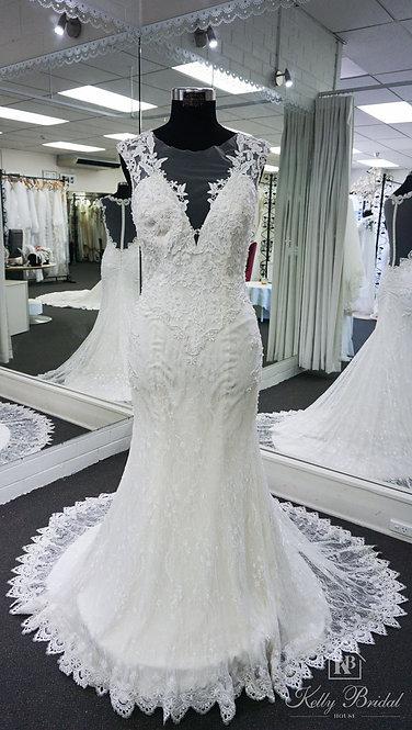 Mabel Mermaid Style Wedding Gown