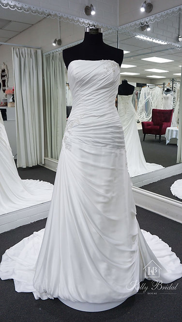 Amelia A-Line Style Wedding Gown